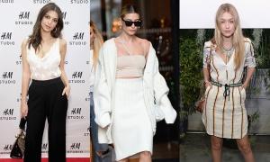 Gigi Hadid, Hailey Bieber diện đồ bình dân trông như hàng xa xỉ