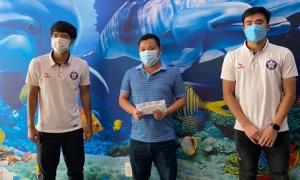 Nhóm cầu thủ ủng hộ 300 triệu đồng cho Đà Nẵng chống dịch