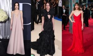 Phong cách thảm đỏ của 'nữ thần 50 sắc thái' Dakota Johnson