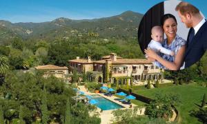 Harry và Meghan tậu biệt thự hơn 14 triệu USD