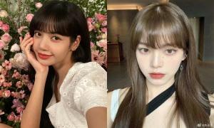 Con gái Trung Quốc 'phát cuồng' vì tóc mái Lisa