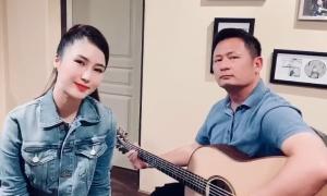 Hương Tràm hát cùng Bằng Kiều khi ở nhà tránh dịch