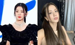 Ji Soo - Irene cùng mê mốt tóc mái 'râu gián'