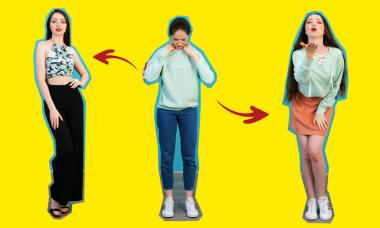 Học lỏm cách biến đồ cũ thành thời trang 'chanh sả'