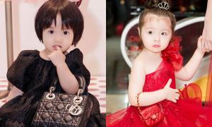 Con gái sao Việt bé xíu đã xách túi hiệu trăm triệu đồng