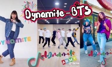 Giới trẻ quốc tế bắt trend cover vũ đạo 'Dynamite' của BTS