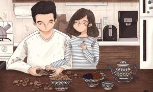 Niềm vui nhỏ bé và ngọt ngào của các cặp đôi khi sống chung