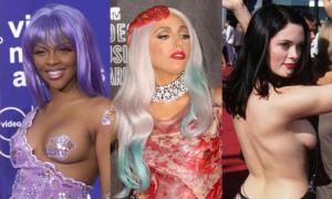 Những bộ cánh kinh điển trong lịch sử lễ trao giải VMAs