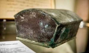 Tìm thấy trái tim cố thị trưởng Bỉ ở đài phun nước sau 130 năm