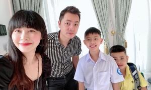 Sao Việt đưa con tựu trường
