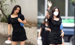 Mỹ nhân Red Velvet gây 'sốt' khi khoe dáng trên đường đi làm
