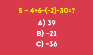 Kiểm tra khả năng tính toán của bạn giỏi đến đâu?