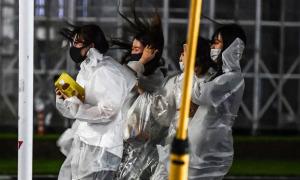 Bão Haishen tấn công Nhật Bản, 8 triệu người sơ tán