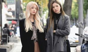 Học cách phối siêu xinh với blazer từ street style của girl Hàn