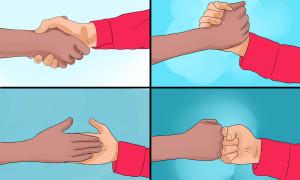 Trắc nghiệm: Đọc vị bạn qua cách bắt tay