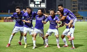 Đánh bại TP HCM 5-1, Hà Nội ăn mừng vào chung kết Cup Quốc gia