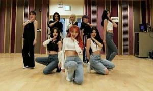 Lovelyz quyến rũ trong video tập vũ đạo 'Memories'