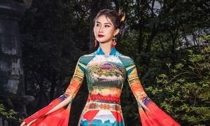 Đỗ Trịnh Hoài Nam đưa di sản Việt lên áo dài