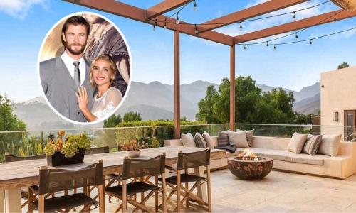 Dinh thự đẹp như thiên đường nhà Chris Hemsworth