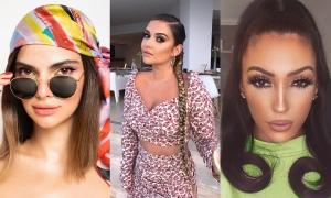 3 cô gái nổi tiếng vì giống chị em Kim - Kendall - Kylie