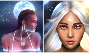 Series tranh minh họa 12 cung hoàng đạo 'đẹp từng milimet'