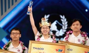 Nữ sinh Ninh Bình vô địch Đường lên đỉnh Olymia 2020