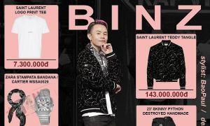 Thời trang Rap Việt: BinZ, Suboi chơi toàn đồ hiệu trăm triệu đồng