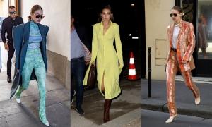 Những bộ cánh sành điệu giúp Gigi Hadid chiếm spotlight khi dự show thời trang