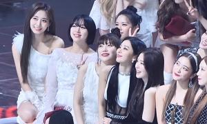 Những lần Tzuyu 'chặt đẹp' hội visual đình đám của Black Pink, Red Velvet