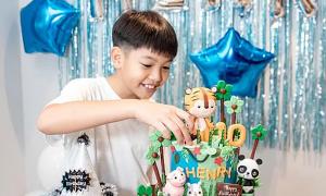Con trai Cường Đô La - Hồ Ngọc Hà lớn bổng tuổi lên 10