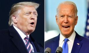 Trump mỉa mai Biden đeo khẩu trang để che mặt phẫu thuật thẩm mỹ