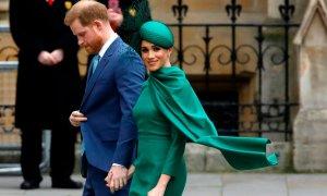 Trump mỉa mai Meghan và chúc Harry 'may mắn'
