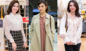Dàn mỹ nhân mix hàng hiệu sành điệu dự sự kiện thời trang