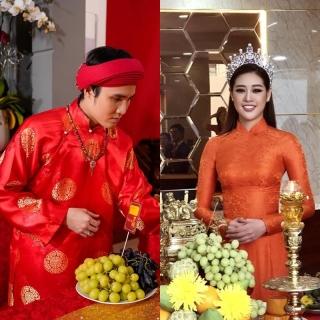 Sao Việt đi cúng Tổ nghiệp: Huỳnh Lập và Khánh Vân đầu tư quần áo, Thúy Ngân giản dị