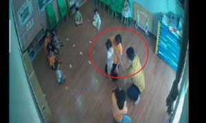 Công an truy tìm kẻ đánh học sinh 2 tuổi ở Lào Cai