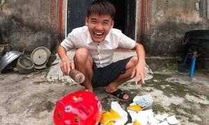 Quay video dạy cách trộm tiền, Hưng Vlog bị chỉ trích
