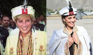 9 lần Kate Middleton giống Công nương Diana bất ngờ