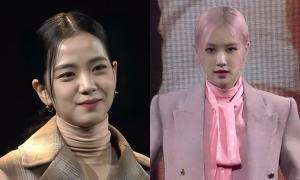 Ji Soo đánh mất phong độ visual, bị Rosé lấn lướt tại họp báo