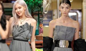 Rosé nhiều lần được khen mặc đẹp hơn người mẫu hãng