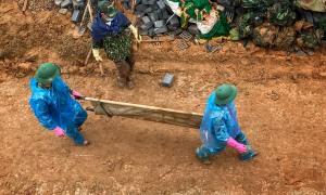 Tìm thấy đủ 22 thi thể bị vùi lấp ở Quảng Trị