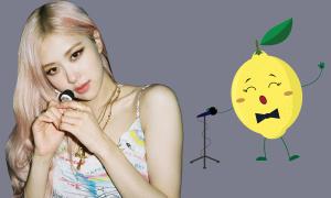 Rosé cover nhạc ITZY, netizen ví 'quả chanh biết hát'