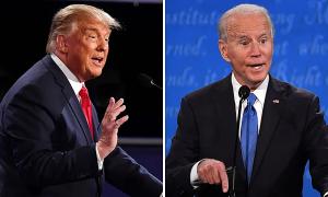 Những phát ngôn 'chê Biden đủ thứ' của Trump trong buổi tranh luận