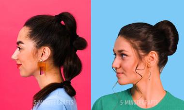 5 cách buộc tóc xinh càng thêm xinh