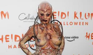 Những màn hóa trang Halloween kinh dị của siêu mẫu nội y Heidi Klum