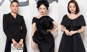 Thảm đỏ show Đỗ Mạnh Cường: Hơn 200 mỹ nhân diện dress code đen hội tụ