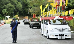 Tang lễ Hoàng tử trẻ Azim của Brunei
