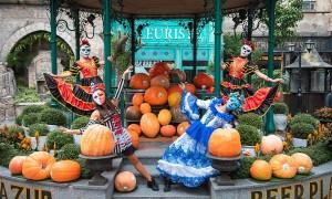 Sun World Ba Na Hills chiêu đãi du khách show diễn đêm Halloween