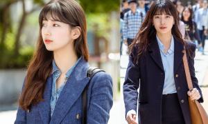 Suzy đi giày rách nhưng có cả loạt túi nghìn USD trong phim mới