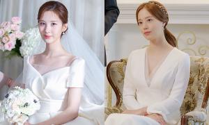 Váy cưới đẹp như cổ tích của 5 mỹ nhân trong drama Hàn mới nhất