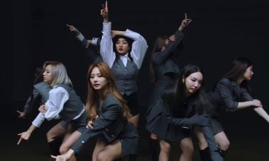 Twice khoe vũ đạo 'I can't stop me' đều tăm tắp